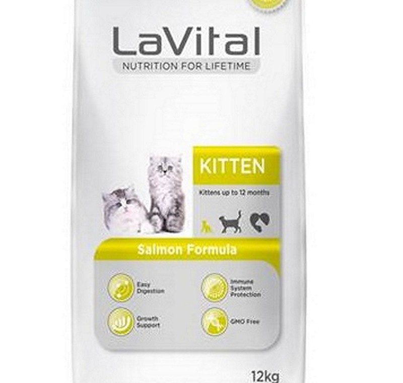 LA VITAL CAT KITTEN SALMON 12 KG -