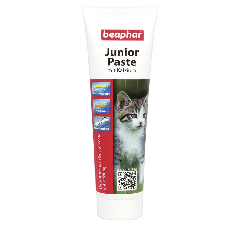 Beaphar Junior Paste Duo - Active Kedi Multi Vitamin 100 Gr -
