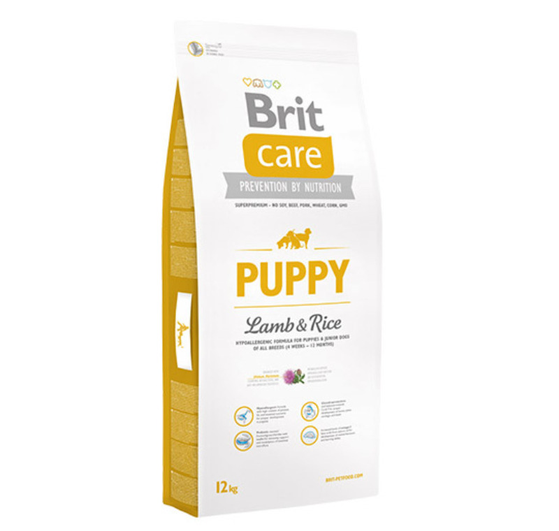 Brit Care Puppy All Breed Kuzu Etli Yavru Köpek Maması 12 Kg -