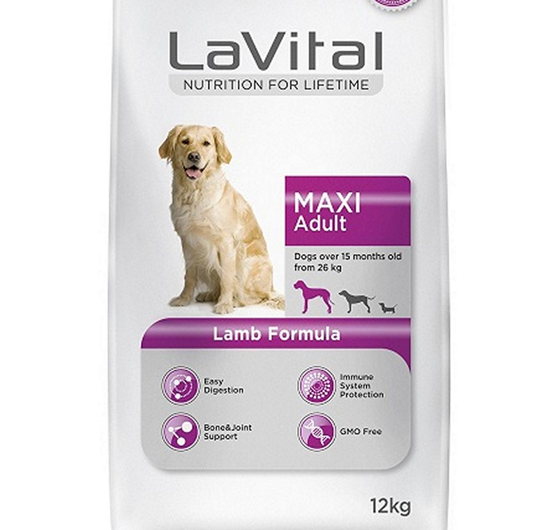 LA VITAL DOG MAXI ADULT LAMB 12  KG -