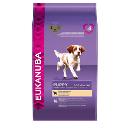 EUKANUBA JUNIOR LAMB  12 KG -