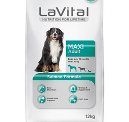 LA VITAL DOG MAXI ADULT SALMON 12  KG -